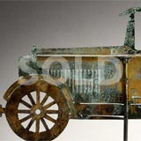 Folk Art Automobile Weathervane